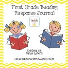 First Grade Reading Response Journal