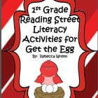 First Grade Reading Street Get the Egg Literacy Activities