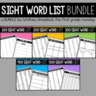 First Grade Sight Word Mega Pack