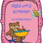 First Grade Sight Word Scramble