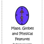 First Grade Social Studies Map &amp; Physical Features Book