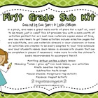 First Grade Sub Kit