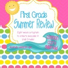 First Grade Summer Review (Common Core Aligned)