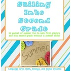 First Grade Summer Slide Packet