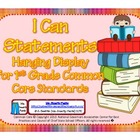 First Grade Teacher/Kid Friendly Common Core Cards Color