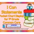 First Grade Teacher/Kid Friendly Common Core Cards More Color