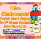 First Grade Teacher/Kid Friendly Common Core Cards TT MORE Color