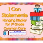 First Grade Teacher/Kid Friendly Common Core Cards