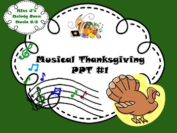 Musical Thanksgiving PPT #1