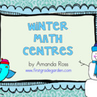 First Grade Winter Math Centres