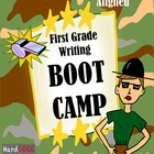 First Grade Writing BOOT CAMP {Common Core W.1.1 W.1.2 W.1.3}