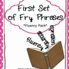 First Hundred Fry Phrases Fluency Games and Intervention Set