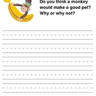 First & Second Grade Writing Prompts with Pictures