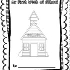 First Week of School Printable Book