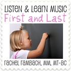 First and Last: Educational Song (MP3 + Instrumental Track