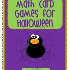 First and Second Grade Halloween Math Centers