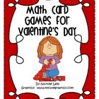 First and Second Grade Valentine's Day Math Centers