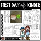 First day of Kindergarten { pack with printables }