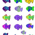 Fish Bowl Math - Numerals, Sizes, Attributes, Addition, an