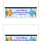 Fish Gift Tags