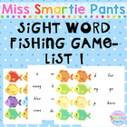 Fish Mania Dolch Sight Word Fishing Game List 1