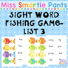 Fish Mania Dolch Sight Word Fishing Game List 3