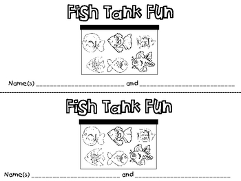 Fish Tank for Six Activity Kit
