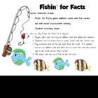 Fishin for Facts Game  - Addition Math Center