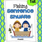 Fishing Fluency Center: Sentence Shuffle - 1st grade rdg. level
