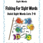 Fishing For Sight Words- Dolch Sight Word Lists 7-9