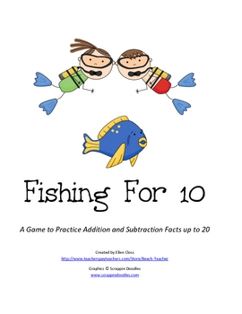 Fishing for 10: A Game to Practice Addition and Subtraction