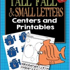 Fishy Alphabets-Tall Fall and Small Letters