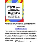 Five Easy Ways to Incorporate Drawing into a Unit of Study