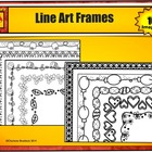 Five Festive Frames: For Personal or Commercial Use