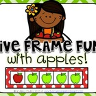 Five Frame Fun with Apples!