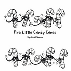 Five Little Candy Canes Emergent Reader