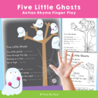 Five Little Friends Counting Rhyme - Ghost Action Rhyme