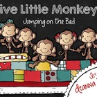 Five Little Monkeys Jumping on the Bed Cross Curricular Unit