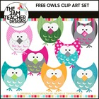 Five Little Owls: FREE Clip Art!!
