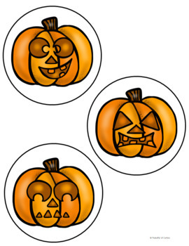 Five Little Pumpkins Pocket Chart {FREE}