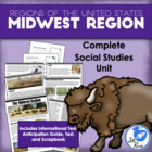 Five Regions of the United States: Midwest Region Complete Unit