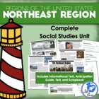 Five Regions of the United States: Northeast Region Complete Unit