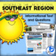 Five Regions of the United States: Southeast Region