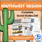 Five Regions of the United States: Southwest Region Complete Unit
