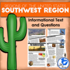 Five Regions of the United States: Southwest Region