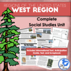 Five Regions of the United States: West Region Complete Unit