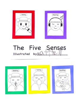 Five Senses Book
