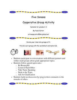 Five Senses Cooperative Activity