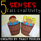 Five Senses Fall Craftivity