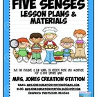 Five Senses &amp; More...Lesson Plans and Materials